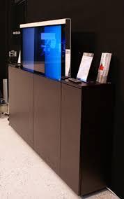 meuble tv caché meubles tv élévateurs par sb concept esprit design
