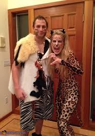 Caveman Couples Halloween Costumes Leopard Couples Costume