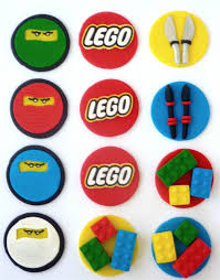 ninjago cake toppers 12 edible lego ninjago cupcake toppers sweet party treats