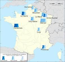 Le Havre France Map by Carte Des Centrales Thermiques Au Charbon 50787dd5 Jpg