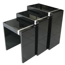 buy nest of tables nest tables black choice image table decoration ideas