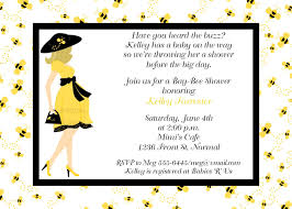 Indian Baby Shower Invitation Cards Bumble Bee Baby Shower Invitations U2013 Gangcraft Net