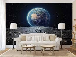galaxy wall mural wall mural galaxy planet wall mural earth wallpaper wall decal