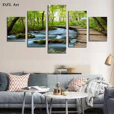 Waterfalls For Home Decor Compare Prices On Waterfall Oil Paintings Online Shopping Buy Low