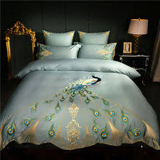 Peacock Feather Comforter Set Peacock Bedding Set Ebay