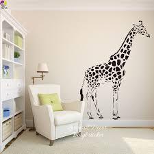 Giraffe Wall Decals For Nursery Giraffe Wall Sticker Baby Nursery Room Large
