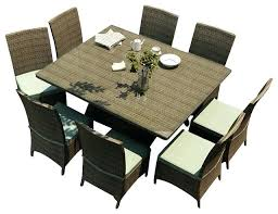 square outdoor dining table latest square outdoor dining set kade 9 piece square dining table 9