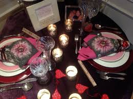 Romantic Table Settings Romantic Valentine Table For Two French Gardener Dishes