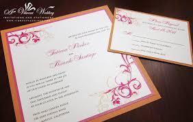 fuchsia wedding invitation u2013 a vibrant wedding
