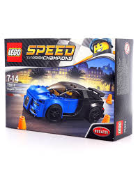 lego sports car lego speed champions bugatti chiron 75878 building blocks