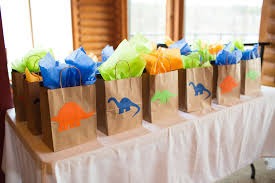 party favor bags dinosaur party favor bags dinosaur party dinosaur favor