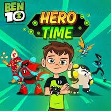 hero ben 10 games cartoon network