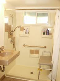 bathroom must have a clear floor space with simple handicap