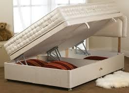 stylish bed ottoman storage hidden storage bed base secret and