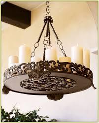 Outdoor Hanging Chandeliers Diy Outdoor Candle Chandelier Home Design Ideas