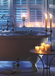 candlelight warm cozy comfort pinterest tubs