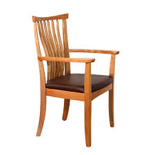 Wooden Arm Chairs Wooden Dining Chairs West Arm Dining Chair Robinson Clark