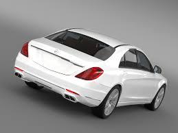 mercedes models 2014 mercedes s 600 guard w222 2014 3d model vehicles 3d models