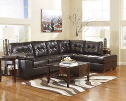 Rustic Leather Sectional Sofa by Mesmerizing Rustic Wooden Coffee Table With Cube Shape Design In