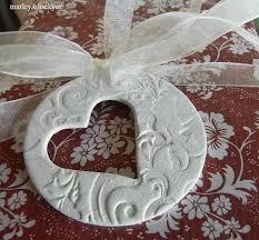 idea for cornstarch dough could also make shape of ornament