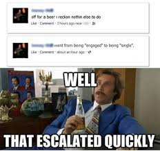 That Escalated Quickly Meme - funniest that escalated quickly memes archives everything funny