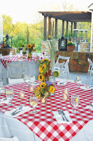 Patio Party Vinyl Tablecloth by Best 25 Checkered Tablecloth Ideas On Pinterest Red Gingham