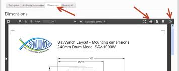 how to print the savwinch dimensional drawings savwinch boat