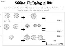 addition addition worksheets multiples of 10 free math