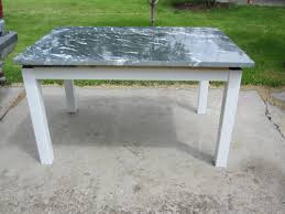Adventures In Building A Dining Table - Granite kitchen table