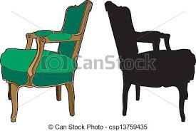 Clipart Armchair Vectors Of Green Armchair Vector Illustration Of Furniture