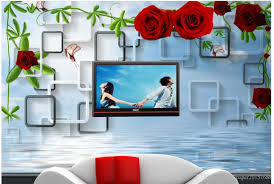 customized wallpaper for walls 3d rose water background wall 3d customized wallpaper for walls 3d rose water background wall 3d murals wallpaper for living room mobile wallpaper download mobile wallpaper hd from