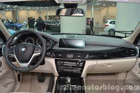bmw x5 dashboard bmw x5 xdrive40e plug in hybrid dashboard at iaa 2015 indian