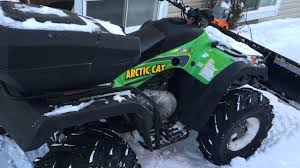 2004 arctic cat 400 cc youtube