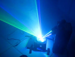 laser midair hologram time tunnel light show machine