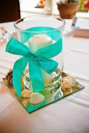 Blue Wedding Centerpieces by Best 25 Teal Centerpieces Ideas On Pinterest Teal Wedding