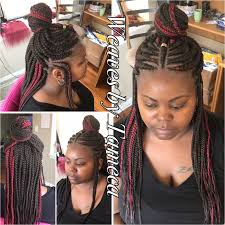 red cornrow braided hair ghana braids feed in braids queen braid red hair box braids