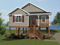 One Floor House by House Plans One Story House Plans Coastal House Plans With