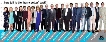 picture height harry potter height chart who s the tallest actor mtv