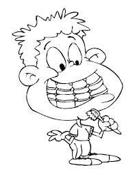 Coloring Page Brushing Teeth Img 10740 Brushing Teeth Coloring Pages