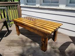 Pallet Coffee Tables American Flag Pallet Coffee Table 10 Steps With Pictures