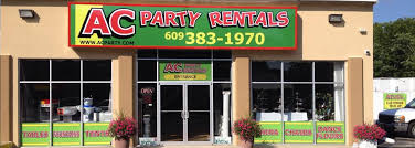 party rental ac party rentals