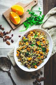 healthy sweet potato thanksgiving recipes brown rice and sweet potato salad healthy seasonal recipes