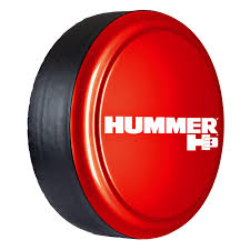hummer h3 color matched rigid tire cover boomerang official
