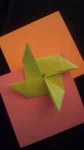 Stick Paper How To Make An Origami Pinwheel 11 Steps With Pictures