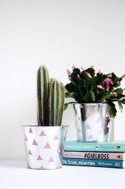 diy chrome patterned planter