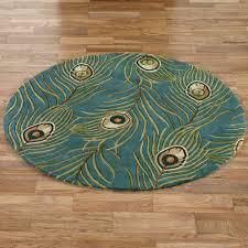 Pier One Round Rugs by Peacock Feathers Round Rugs