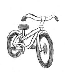 bicycle drawing tutorial on drawingmanuals com and drawissimo kids