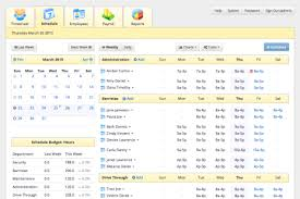 Employee Scheduling Excel Template Hotel Staff Scheduling Software Tixtime
