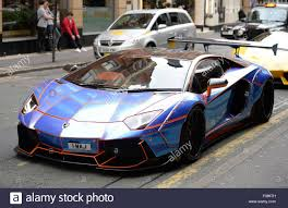 lamborghini customised a lamborghini aventador with a tron design cutomised by oakley