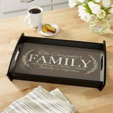 personalized serving dishes galvanized serving tray bless the food before us family beside